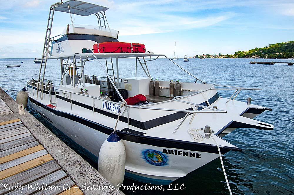 arienne-docked